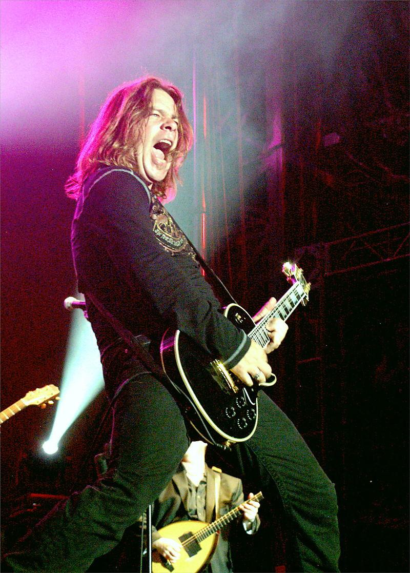 The Rock Star Guitar God