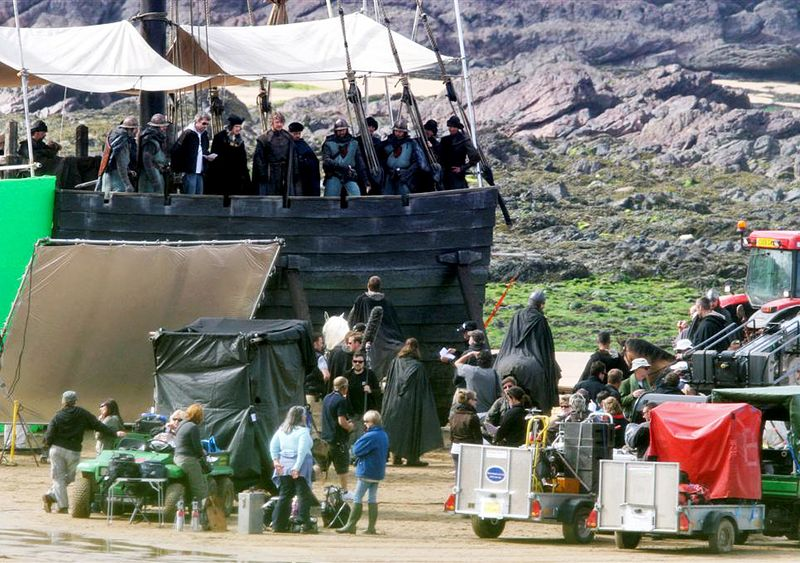 Rural Newfoundlander On The Set