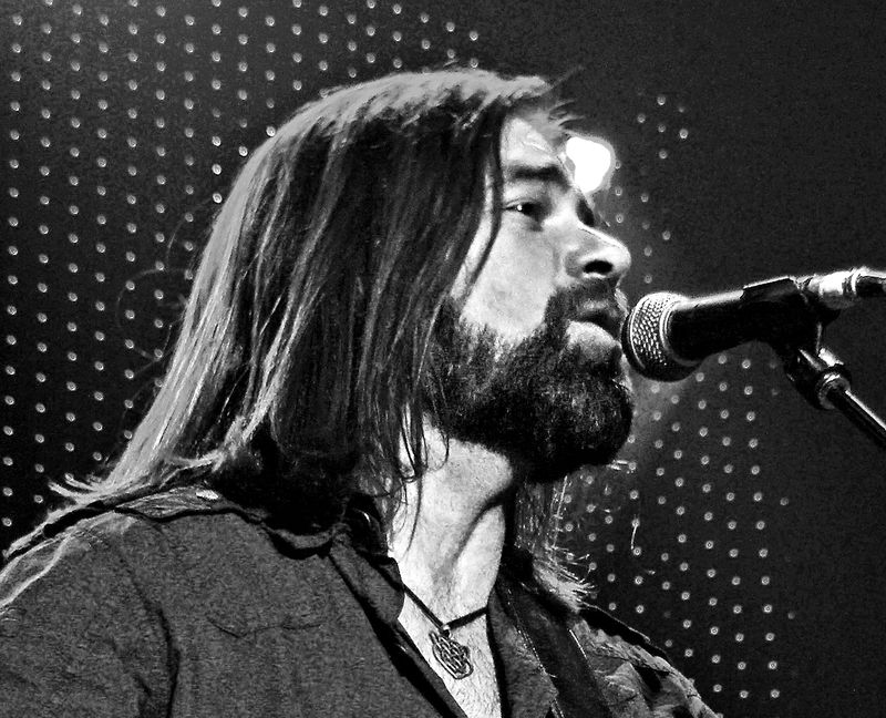 Beautiful Bearded Alan B&W