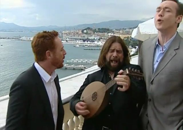 Merry Men Cannes Today Show