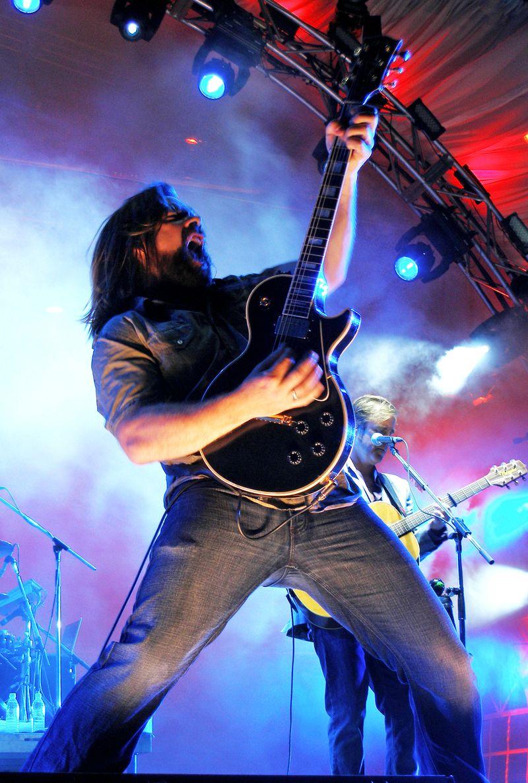 Petty Harbour Rock Star Guitar God Alan