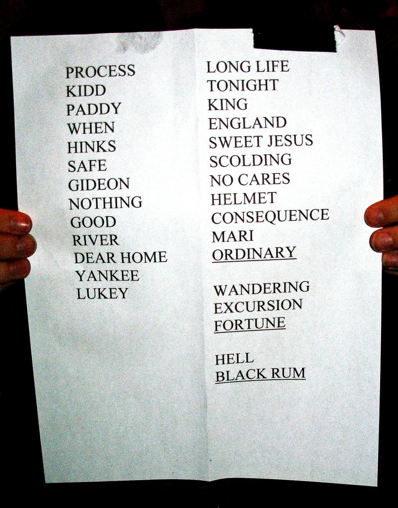 Ann Arbor set list
