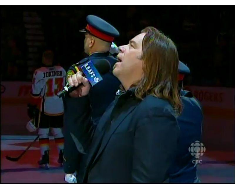 Hockey night anthem
