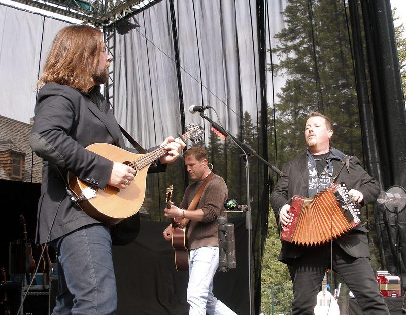 Banff 12 Paddy's Accordionist