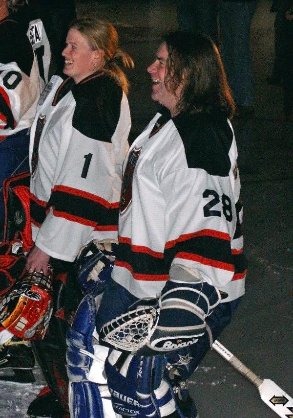 Goalie Pair Juno Cup