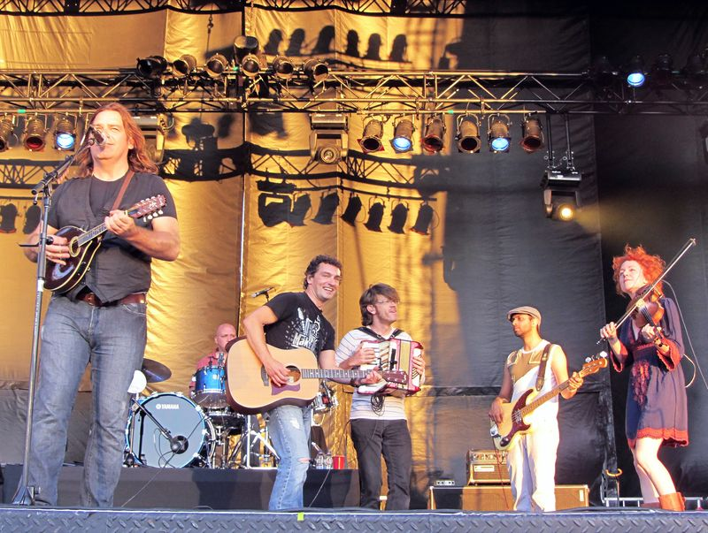 The Alan Doyle Band At Ottawa Bluesfest
