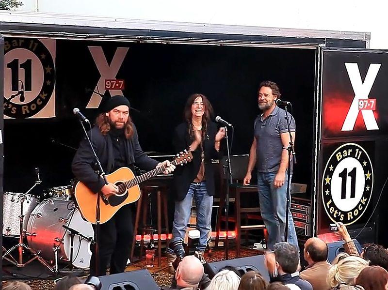 Alan, Patti, Russell in Reykjavik screen shot