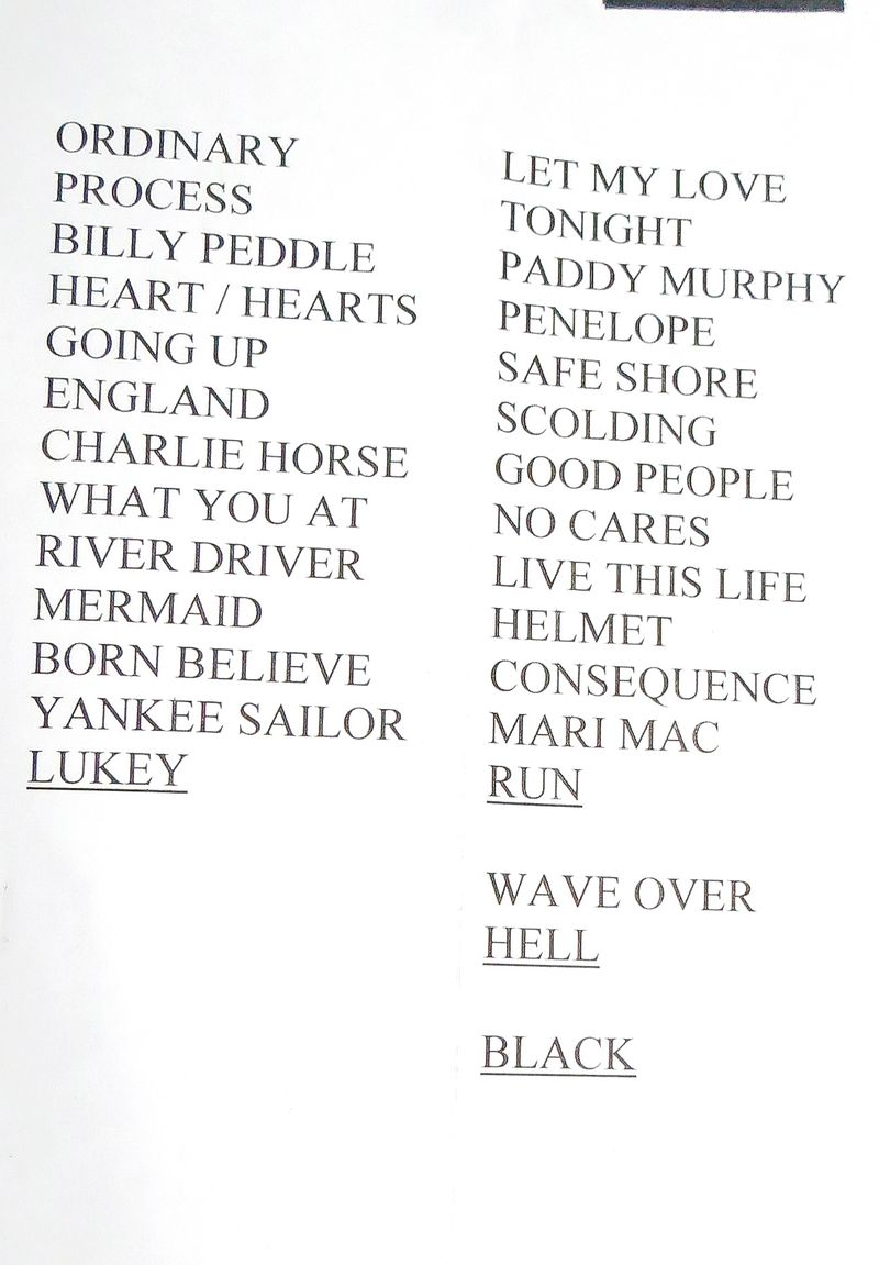 GBS XX Set LIst - Victoria Save-On Foods Memorial Centre