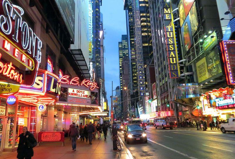 Times Square Alan