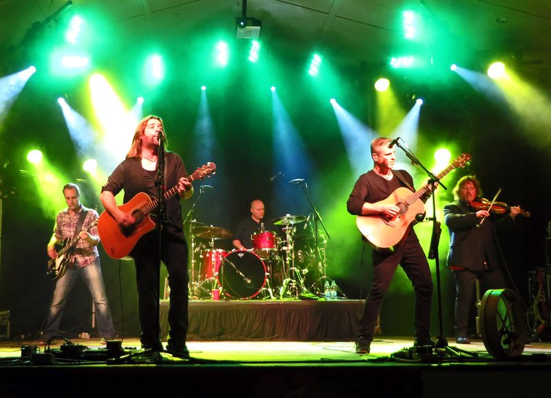 Great Big Sea, George Street 2013 (Charlie Horse)