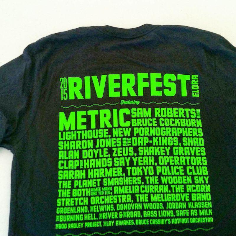 Riverfest Lineup