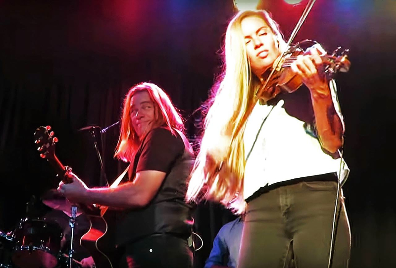 So Frigging Lucky To Have A Fiddle Goddess In My Band  Deerfoot Casino  Calgary