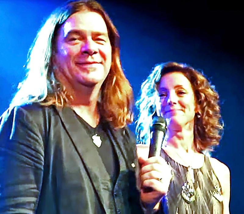 Alan and Sarah  Spirit Of Canada