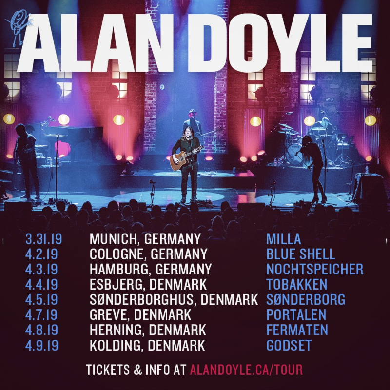 Europe gigs
